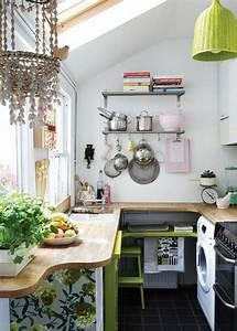 amenager une petite cuisine 40 idees pour le design With amenager une petite cuisine astuces