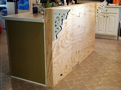 how to build a kitchen island bar adding to the breakfast bar daydream