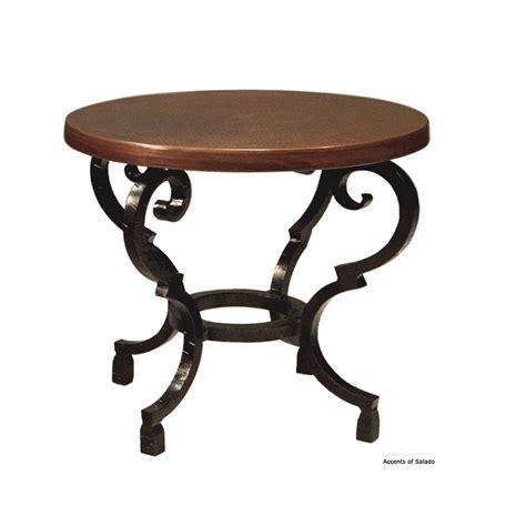 copper top end tables cobre copper top side table