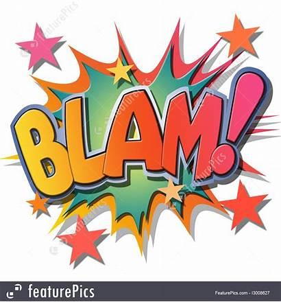 Blam Comic Illustration Featurepics Fine Elements