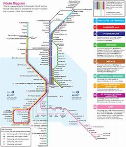 First Capital Connect Route Map