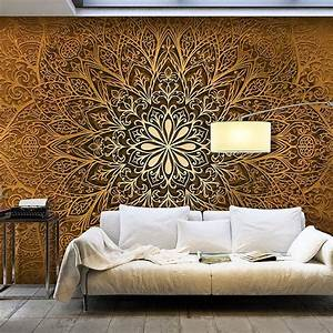10 best 3 d wanddekore images on pinterest 3d wall With balkon teppich mit ornament tapete braun