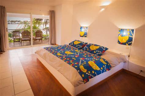 chambre lodge chambre vue lagune hôtel coucoué lodge assinie