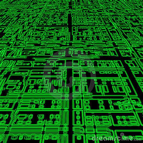 green futuristic abstract background stock photo image