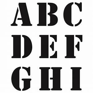 Buchstaben Schablone Metall : buchstaben schablone abc gro e druckbuchstaben kreativ depot ~ Frokenaadalensverden.com Haus und Dekorationen