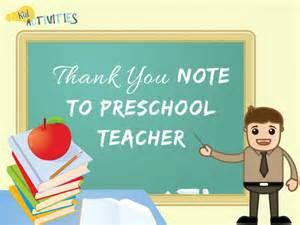 write a thank you note to preschool plus thank 856 | Thank You Note to Preschool Teacher 1030x773
