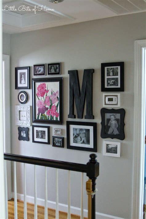 bits  home hallway gallery wall gallery walls