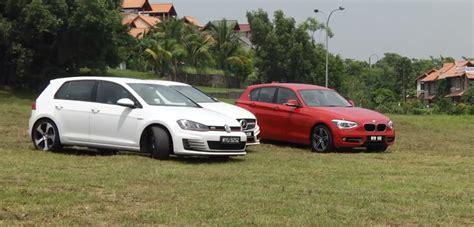 Bmw 125i Vs Golf Gti Vs Mercedes-benz A250 Vs Volvo V40