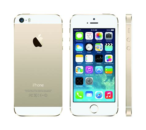 iphone a1453 photo apple iphone 5s a1453 gold front back right png