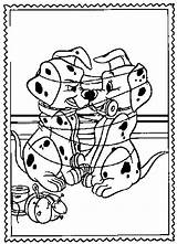 101 Dalmatians Coloring Pages Animation Movies Printable Kb sketch template