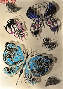 Butterfly Sticker Tattoo
