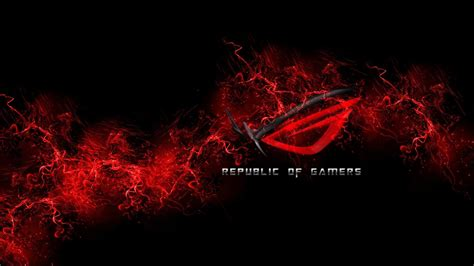 1920x1080 Px, Asus, Black And Red, Gamers, Pc