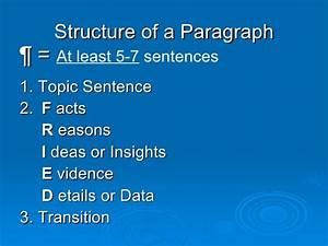 How to Write a 5, paragraph, essay
