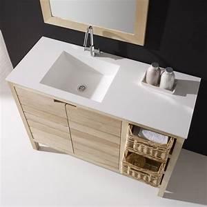 Meuble salle de bain bali 110 cm masalledebaincom for Meuble salle de bain 110