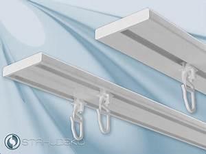 Schiene Für Duschvorhang : vorhangschiene aus aluminium wendeschiene 1 2 lfg ~ Michelbontemps.com Haus und Dekorationen