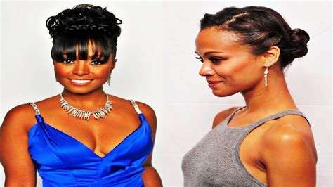 Braided Bun Hairstyles For African American Women With