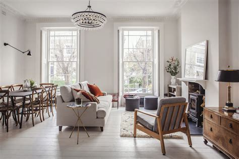 London family home refurbishment mixing the Scandinavian