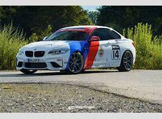 20 Zoll BBS CIR Alu's & KW Fahrwerk im BMW M2 F87 Coupe