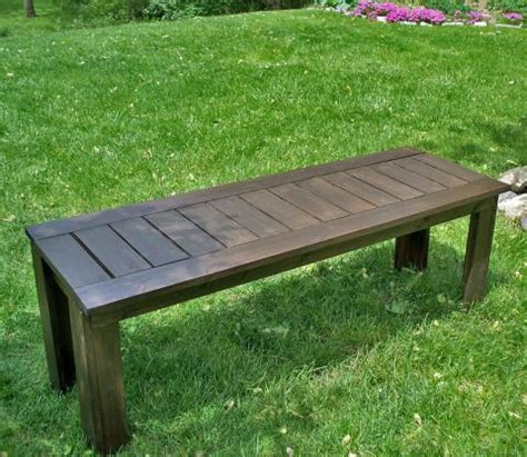 ana white build  simple outdoor bench diy projects