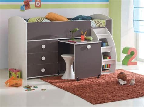 lit bureau compact enfant 3 suisses chambres enfants
