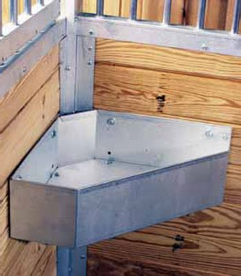 feeders for stalls galvanized corner mount feeder stalls