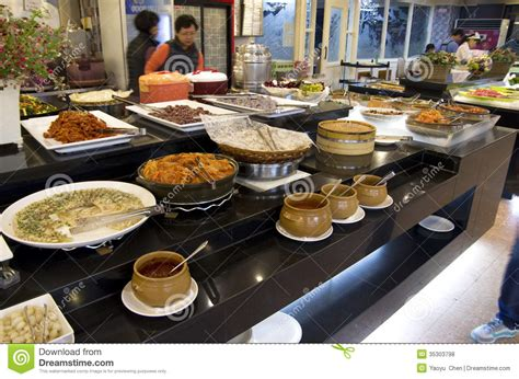 buffet cuisine buffet restaurant cuisines editorial stock photo