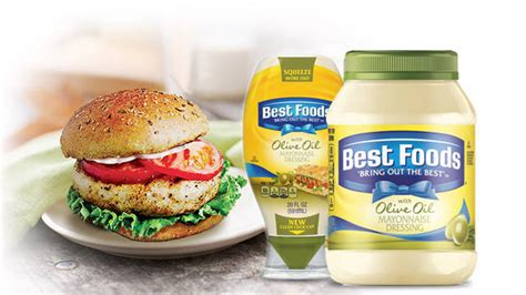 Best Food Mayonnaise Dressing With Olive Oil 30oz
