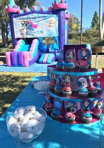 inexpensive centerpiece ideas frozen birthday party ideas pink purple blue and a