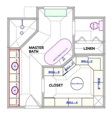 Bathroom Floor Plans Walk In Shower by Bathroom Astonishing Bathroom Floor Plans Doorless Walk