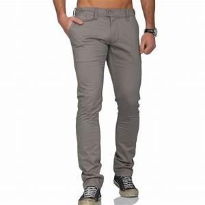 Pantalon Homme Fashion Gris Achat / Vente pantalon