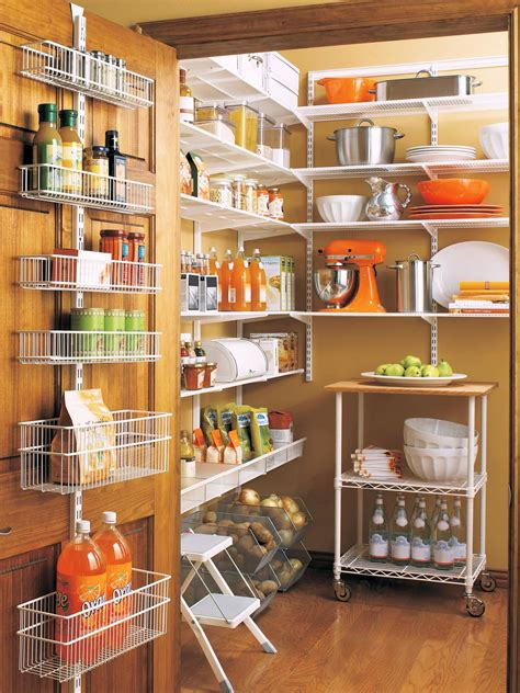 Storage Pantry by Organize Your Kitchen Pantry Hgtv