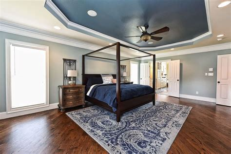 Bedroom Paint Ideas Wood Trim by 29 Beautiful Blue And White Bedroom Ideas Pictures