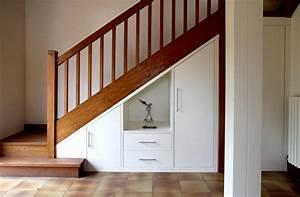 Aménagement Sous Escalier : cuisine sous escalier table cuisine inox ikea u2013 21 argenteuil objets du0027art et ~ Preciouscoupons.com Idées de Décoration