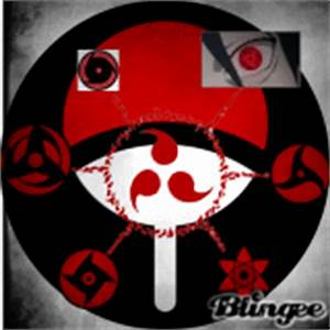 Mangekyou-Sharingan of Shisui Graphic #5801364 | Blingee.com