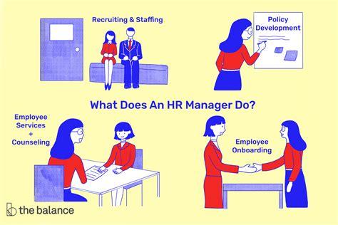 sample human resources manager job description