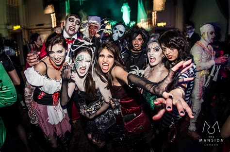 Halloween Clubbing In London  Halloween Club Nights In