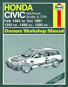 Haynes Owners   Workshop Car Manual Honda Civic Handbook