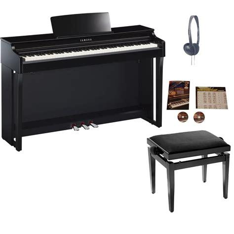 yamaha clp 625 yamaha clp625 digital piano polished ebonypackage from