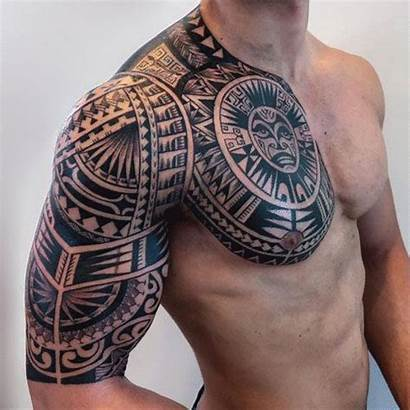 Tattoos Badass Tattoo Tribal Chest Sleeve Maori