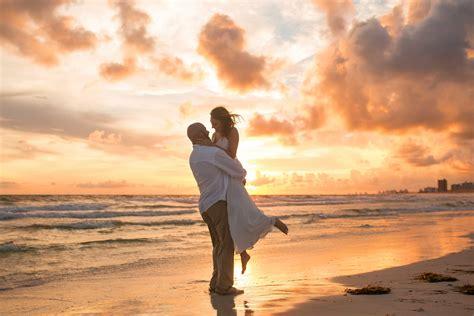 beach sunset wedding photographer ljennings photography