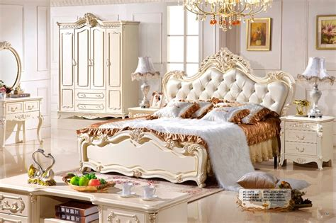bed design classic furniture european style girl bedroom