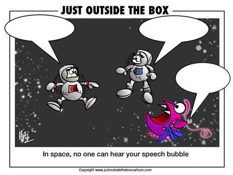Space And Aliens Archives  Just Outside The Box Cartoon