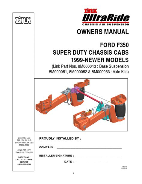 owners manual ford  super duty chassis cabs  newer