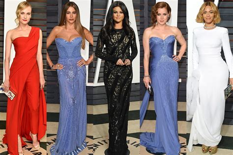 Oscars Party Outfits The Best Celebrity Looks You