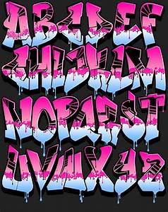 11 Wet Paint Font Letter A In Graffiti Images - Graffiti