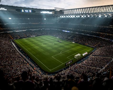 Wallpaper Fifa 18 Stadium 2017 4k Playstation 4