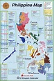 Large detailed administrative map of Philippines with ...