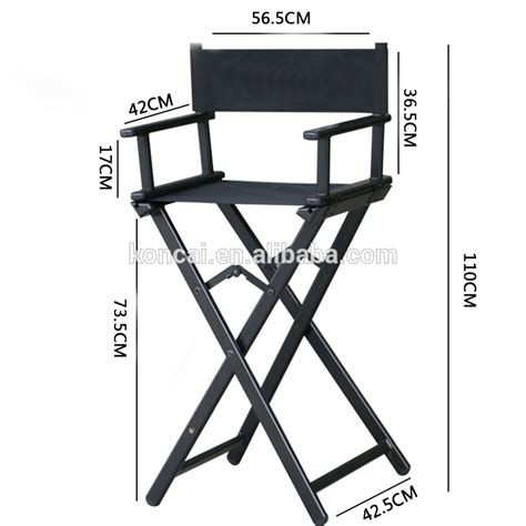 new design used cheap wood aluminum folding director
