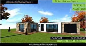 maison contemporaine moderne et design d architecte With maison toit plat bois 12 maison cubique cube ou carree en ossature bois par votre