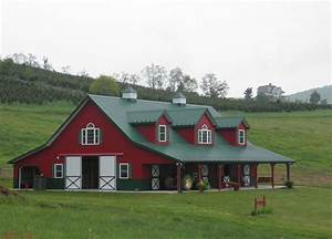 house that looks like red barn images at home in the With barn style metal building kits